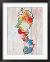 Framed Seahorse I