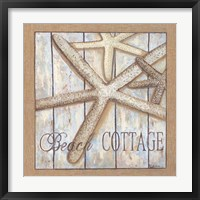 Framed Beach Cottage I