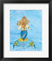 Fiona Mermaid Framed Print