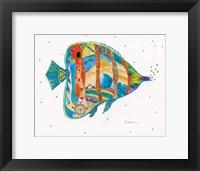 Framed Passion Fish I