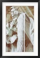 Framed Lincoln Fist I