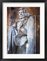 Framed Lincoln Fist II