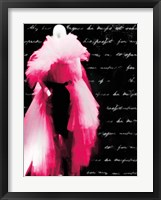 Framed Pink Dress