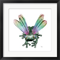 Dragonfrog Framed Print