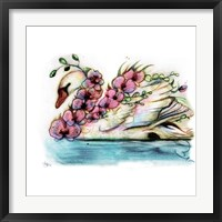Framed Swan Orchid