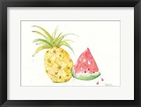 Framed Juicy Fruits