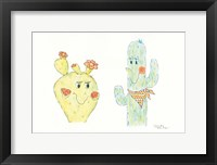 Framed Prickly Pair