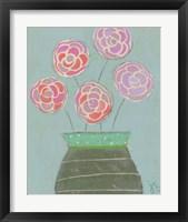 Five Roses Framed Print