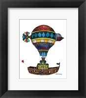When Houseboats Fly Framed Print