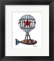 When Submarines Fly Framed Print