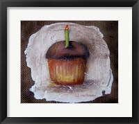 Birthday Cake a la Fresco Framed Print
