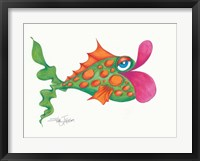 Flamboyant Fish I Framed Print