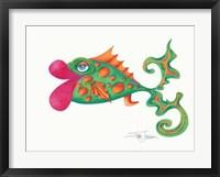 Flamboyant Fish II Framed Print