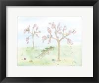 Framed Cherry Blossom Hopscotch