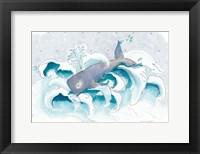 Framed Jonah's Whale
