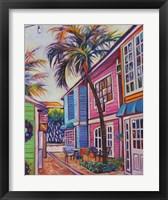 Framed Courtyard Palm