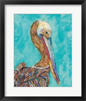 Framed Pelican I
