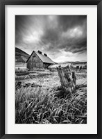 Framed Stormy Barn
