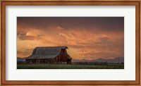 Framed Stormy Barn 02