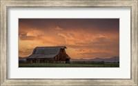 Framed Stormy Barn 02