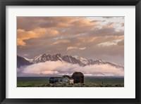 Framed Mountain Farm