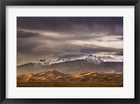 Framed Desert Mountain