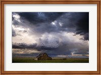 Framed Stormy Barn 04