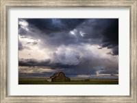 Framed Stormy Barn 04