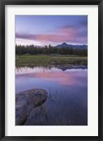 Framed Lake Reflections