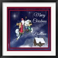 Merry Christmas III Framed Print