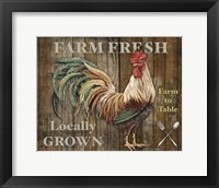 Framed Farm Fresh I