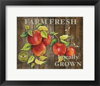 Framed Farm Fresh III