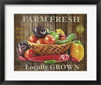 Framed Farm Fresh IV