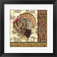 Framed Tom Turkey I