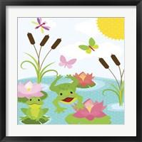 Frog Pond II Framed Print