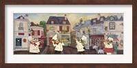 Framed Italian Chefs I