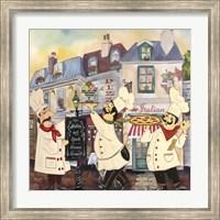 Framed Italian Chefs II
