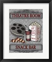Movie Night III Framed Print