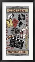 Cinema I Framed Print