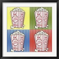 Framed Popcorn Pop Art I