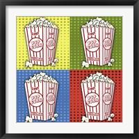 Framed Popcorn Pop Art II