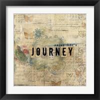 Framed Enjoy Lifes Journey