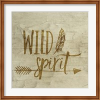 Framed Wild Spirit