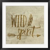 Framed Wild Spirit