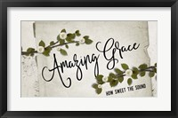 Framed Amazing Grace Floral