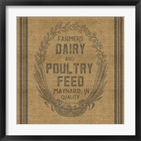 Framed Farmers Dairy