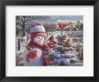 Framed Snow Baby Grace