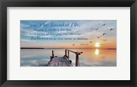 Framed John 6:35 I am the Bread of Life (Pier)