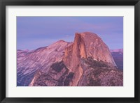 Framed Mountain Top at Sunrise
