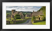 Framed Village Road